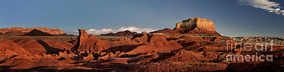 Photograph - Panorama Of Goblin Valley State Park Utah by Dave Welling