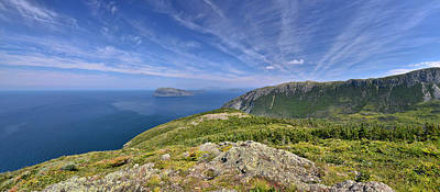 Panorama Of The Outer Bay Of Islands, Newfoundland Art Print