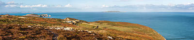 Photograph - Panorama Of Howth Cliffs And The Irish Sea by Semmick Photo