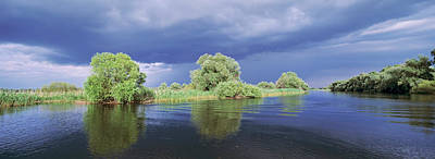 Panorama Of Lakes And Channels Art Print by Martin Zwick