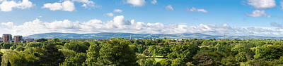 Photograph - Panorama Of Phoenix Park And Wicklow Mountains by Semmick Photo