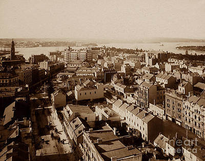 Syndey Photograph - Panorama Of Sydney Australia by The Keasbury-Gordon Photograph Archive