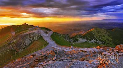 Photograph - Panorama Of The Tatras In Poland by Lilianna Sokolowska