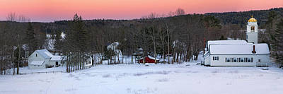 Photograph - Panorama Of Waterford Village by Darylann Leonard Photography