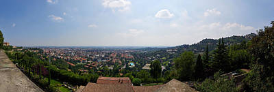 Photograph - Panorama Over Bergamo  Bassa by Jouko Lehto