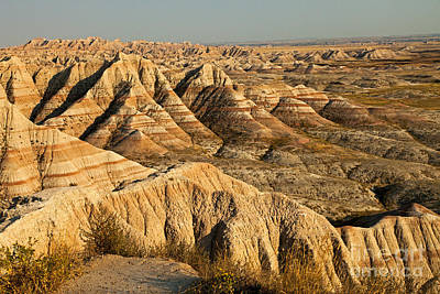 Photograph - Panorama Point Badlands National Park by Fred Stearns