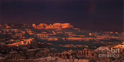 Photograph - Panorama Rainbow Bryce Canyon National Park Utah by Dave Welling