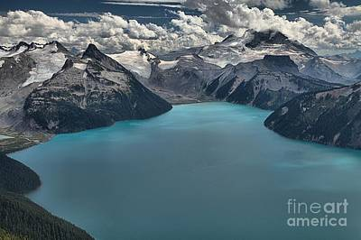 Photograph - Panorama Ridge Garibaldi Glacier Lake by Adam Jewell