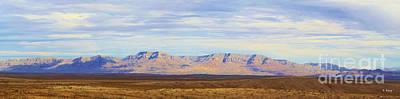 Photograph - Panorama Sierra Caballo Mountain Range New Mexico by Roena King
