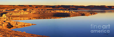 Photograph - Panorama Still Water Reflections by Roena King
