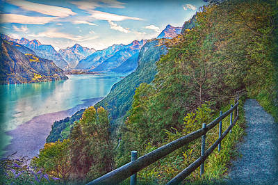Photograph - Panorama Trail by Hanny Heim