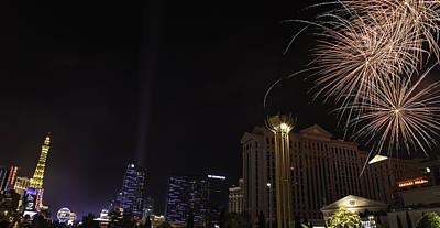 Photograph - Panorama U S A Las Vegas 01 by Sentio Photography