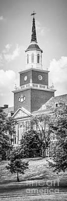 Panorama University Of Cincinnati Vertical Picture Art Print by Paul Velgos