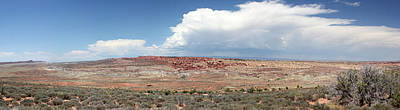 Photograph - Panorama View Arches National Park by Mary Bedy