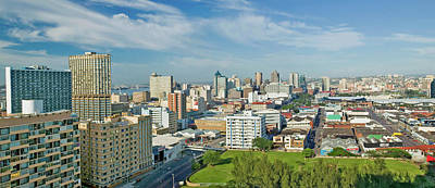 Panoramic Aerial View Of Durban, South Art Print