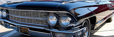 Photograph - panoramic black Caddy by Mark Spearman