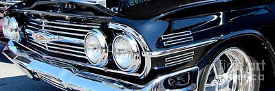 Photograph - panoramic black Impala by Mark Spearman