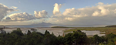Photograph - Panoramic Clew Bay. by Terence Davis