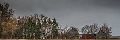Panoramic Farm Scene Art Print by Paul Freidlund