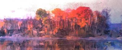 Beastie Boys - Panoramic Island Landscape by Mario Carini