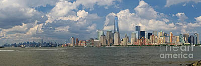 Panoramic Of New York City Art Print