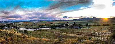 Photograph - Panoramic Of Solider Ranch by Robert Bales