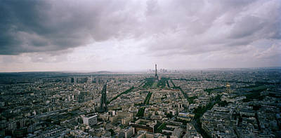 Paris Photograph - Panoramic Paris by Shaun Higson