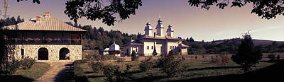 Photograph - Panoramic Photo Of Almas Monastery In Neamt County - Romania by Vlad Baciu