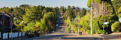 Photograph - Panoramic Photo Of Katoomba Street by Yew Kwang