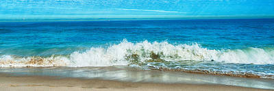 Photograph - Panoramic Photo Of Trigg Beach by Yew Kwang