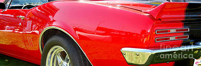 Photograph - panoramic Pontiac Firebird by Mark Spearman