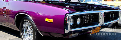 Photograph - panoramic purple Charger by Mark Spearman