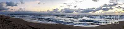 Photograph - Panoramic Seascape South Florida by Ginette Callaway