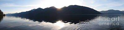 Photograph - Panoramic Sunset by Leone Lund