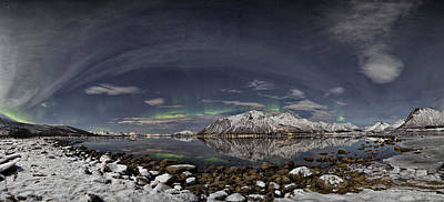 Arctic Photograph - Panoramic View by Frank Olsen