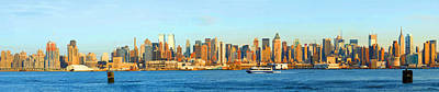 Panoramic View -  New York Water Front Original by Don Kuing
