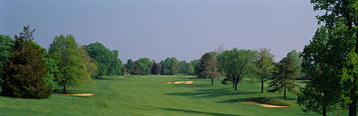 Maryland Photograph - Panoramic View Of A Golf Course by Panoramic Images