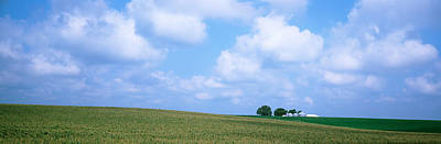 Panoramic View Of A Landscape, Marshall Art Print