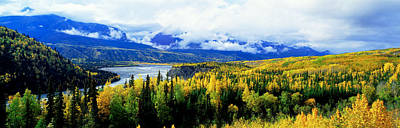 Yukon River Photograph - Panoramic View Of A Landscape, Yukon by Panoramic Images