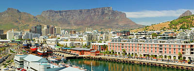 Cape Town Photograph - Panoramic View Of Cape Grace Hotel by Panoramic Images