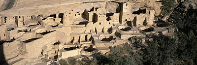 Mesa Verde Photograph - Panoramic View Of Cliff Palace Cliff by Panoramic Images