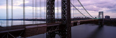 Panoramic View Of George Washington Art Print