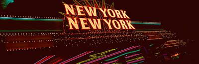 Panoramic View Of New York New York Art Print