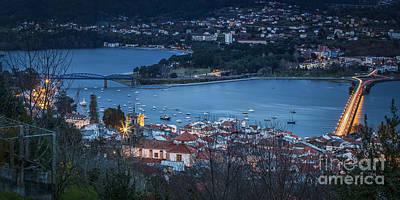 Photograph - Panoramic View Of Pontedeume From Vista Alegre Galicia Spain by Pablo Avanzini