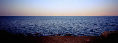 Jordan Photograph - Panoramic View Of The Sea, Dead Sea by Panoramic Images