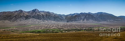 Lost River Mountains Photograph - Panoramic Of Mackay by Robert Bales