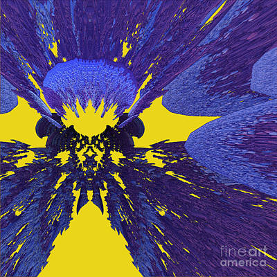 Digital Art - Pansy By Jammer by First Star Art