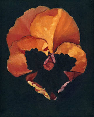 Painting - Pansy No.6 by Katherine Miller