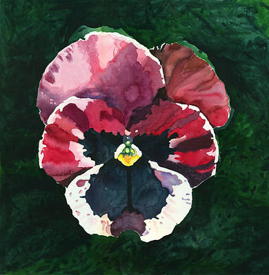 Painting - Pansy Red by Katherine Miller