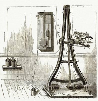 Pantelegraph Art Print